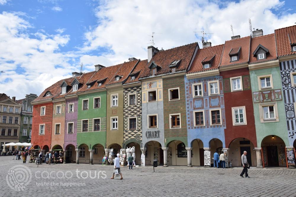 Старият градски площад на Познан, Полша (Poznan, Poland)