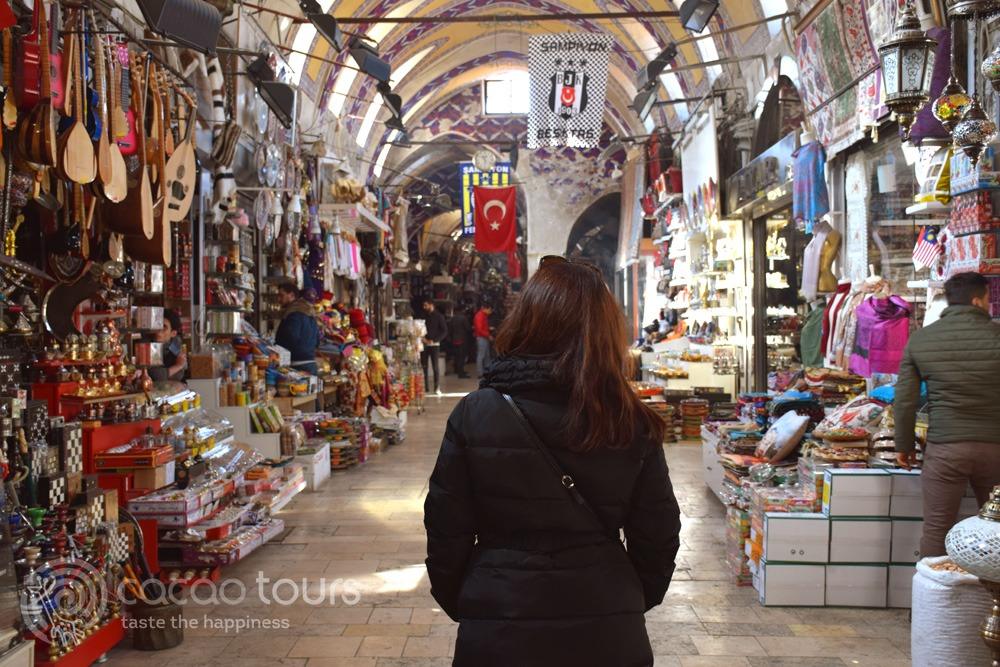 Капалъ чарши (Kapali Carsi) в Истанбул, Турция (Istabul, Turkey)