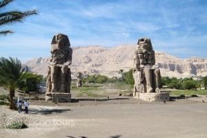 Colossi of Memnon, Luxor, Nile River Cruise, Egypt