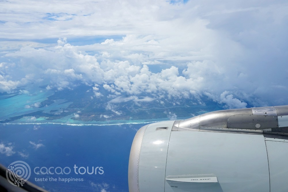 Flight to Zanzibar, Tanzania