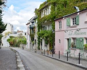 La Maison Rose, Монмартър, Париж
