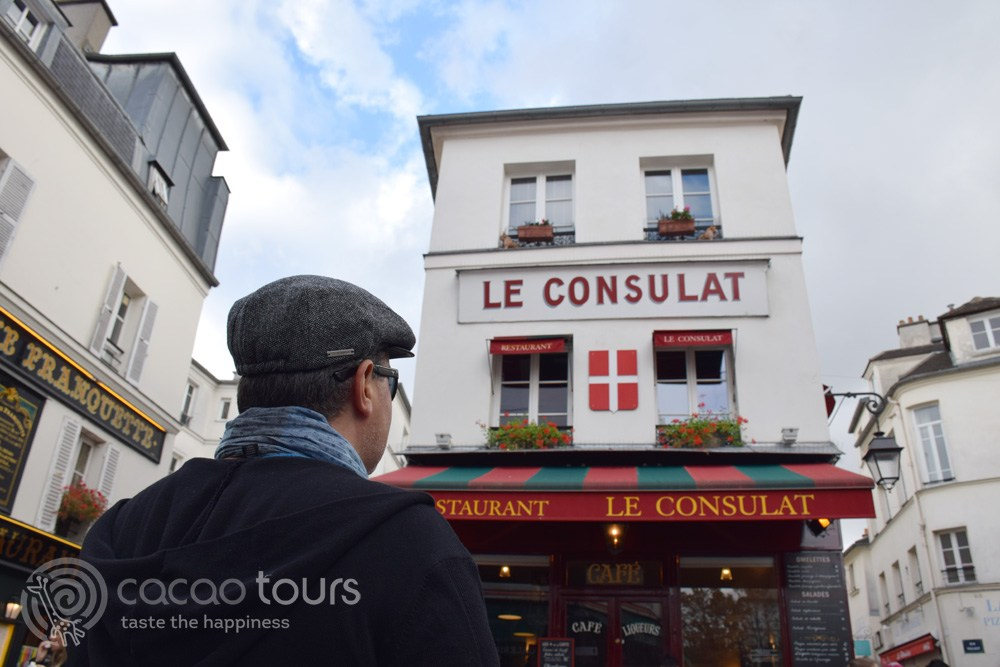 Le Consulat Restaurant, Montmartre, Paris, France