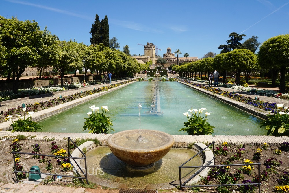 Алказар, Кордоба, Андалусия (Alcazar of the Christian Monarchs, Cordoba, Andalusia, Spain)