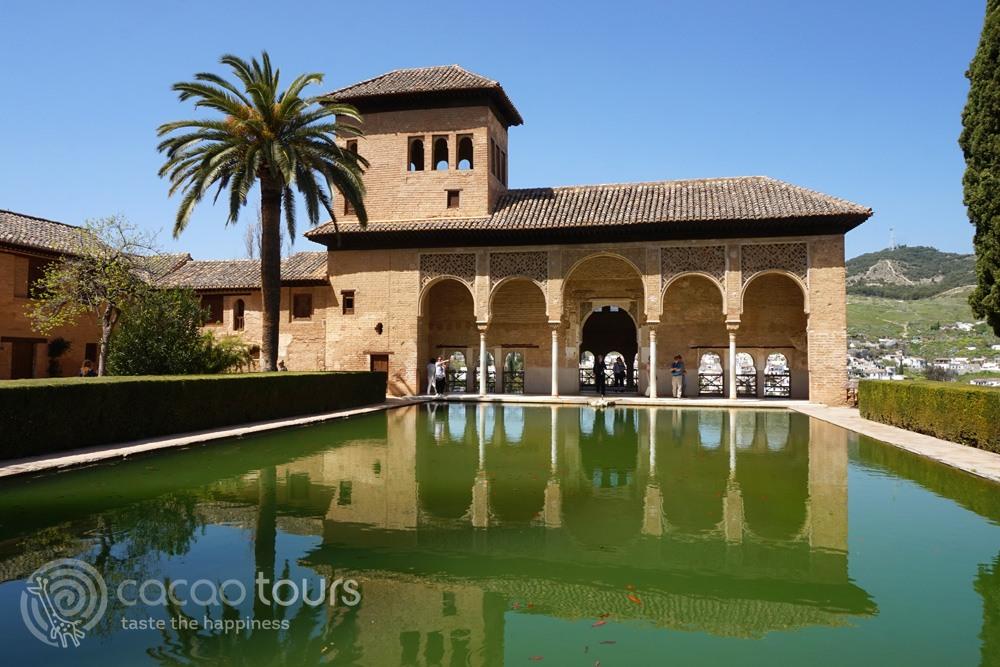 Гледка към Гранада, Андалусия, (Granada, Andalusia, Spain)