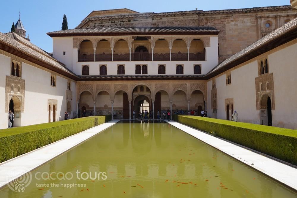 Дворецът Алхамрба, Гранада, Андалусия, Южна Испания (Alhambra, Granada, Andalusia, Spain)