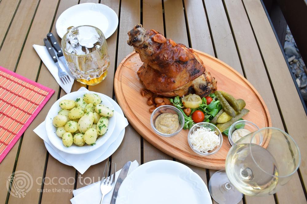 Czech cuisine, Cesky Krumlov, Czech Republic