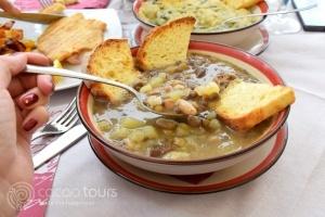 Европейска кухня - Бобена яхния – традиционна за Матера, Италия