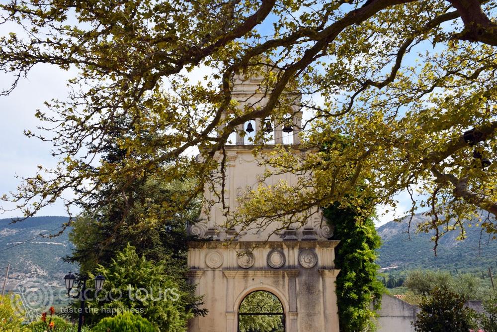 Манастирът Св. Герасим (Monastery of Agios Gerasimos) на остров Кефалония, Гърция (Kefalonia, Greece)