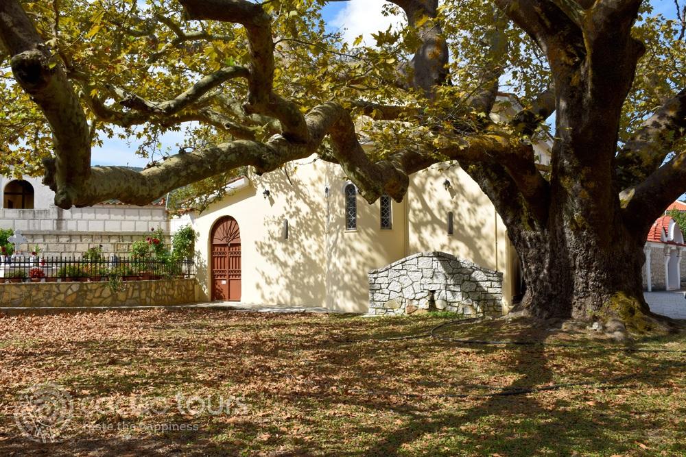 Monastery of Agios Gerasimos, Kefalonia, Greece