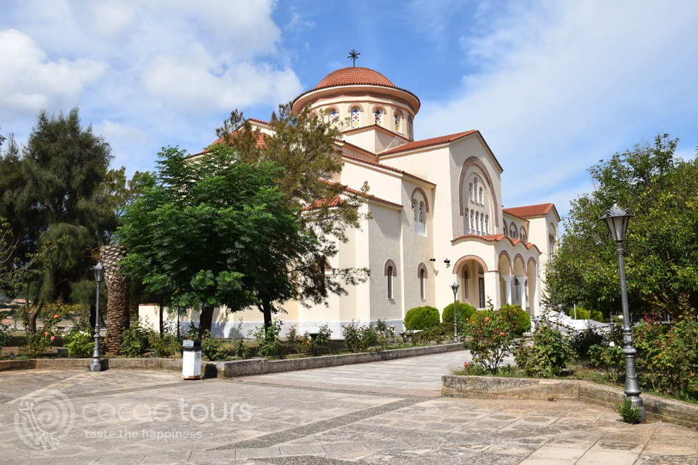 Манастирът Св. Герасим (Monastery of Agios Gerasimos) на остров Кефалония (Kefalonia)