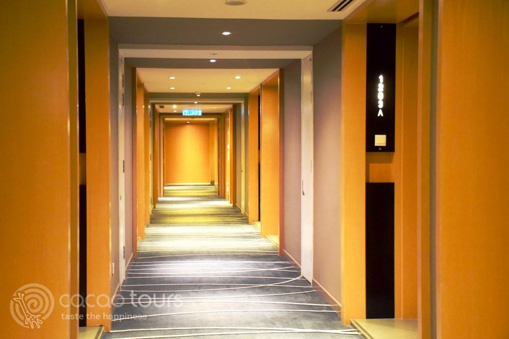 хотелски коридор в Куала Лумпур