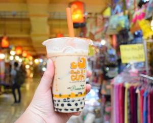 Кафе с чай и мляко, кафена напитка от Китай