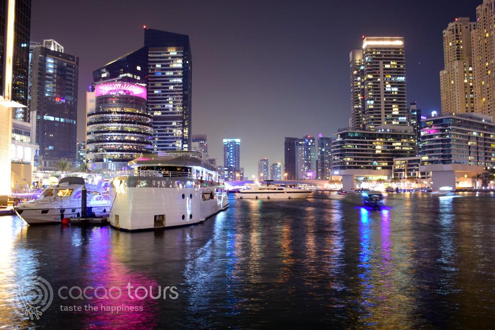 Дубай Марина, ОАЕ - перфектно място за моминско парти