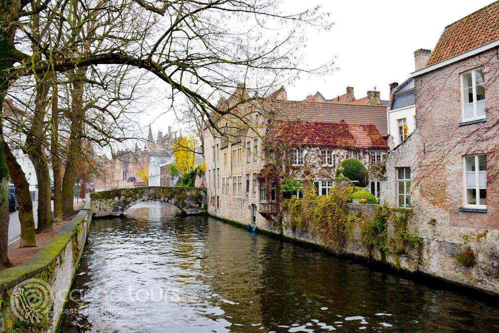 каналите на Брюж, Белгия