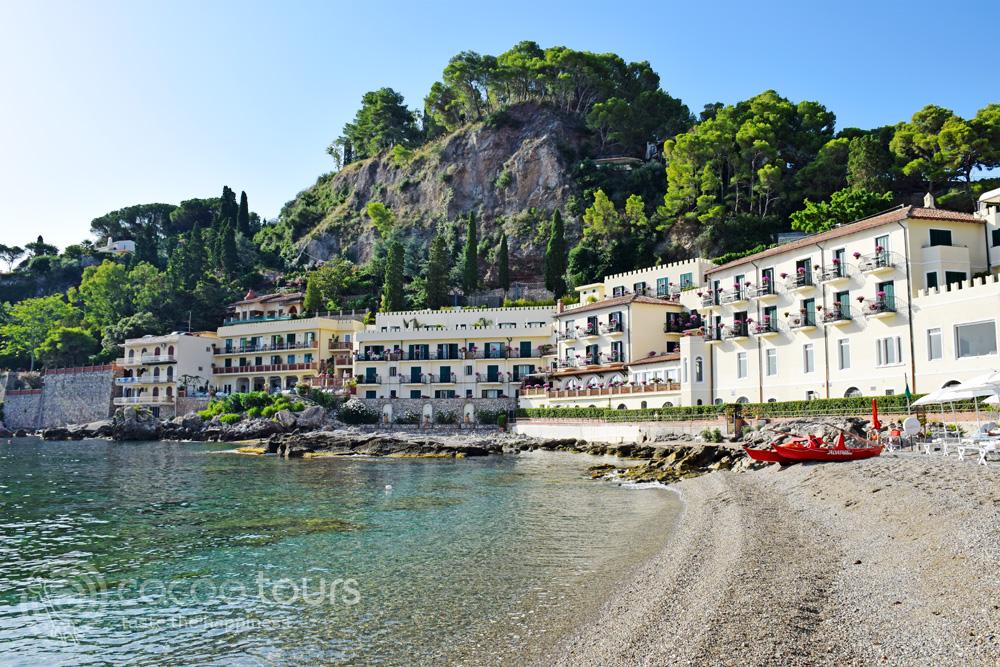 Belmond Villa Sant'Andrea, плаж Мазаро, почивка в Таормина, Сицилия, Италия