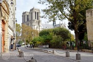 """Катедралата """"Нотр Дам де Пари"""" (Notre-Dame de Paris), Париж, Франция"""