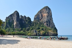 заливът Рейли, Краби, Южен Тайланд
