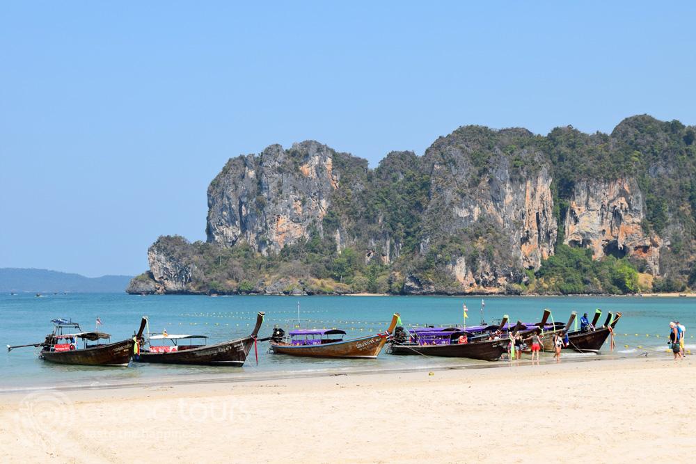 Екскурзия в Тайланд - залива Рейли, Краби