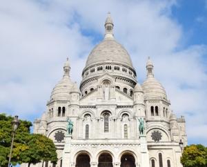 Катедралата Sacre Coeur, Монмартър, Париж, Франция