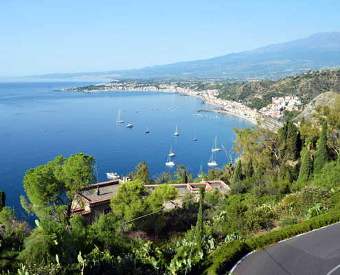 Таормина, остров Сицилия