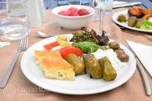 Великденски обяд на остров Корфу, Гърция