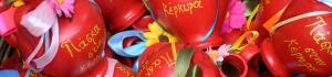 червени стомни за Великден на остров Корфу