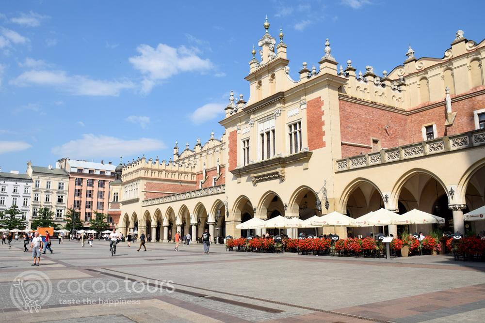 """Покритият пазар """"Сукеннице"""", Краков"""