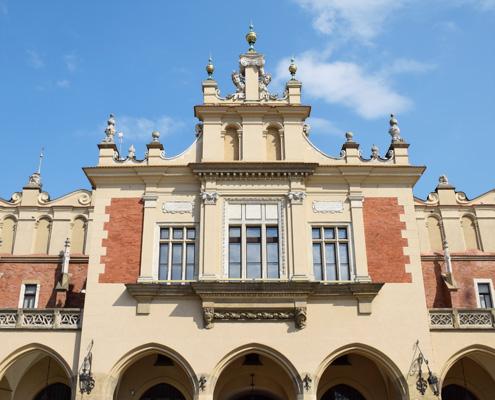 """Покритият пазар """"Сукеннице"""", Краков, Полша"""