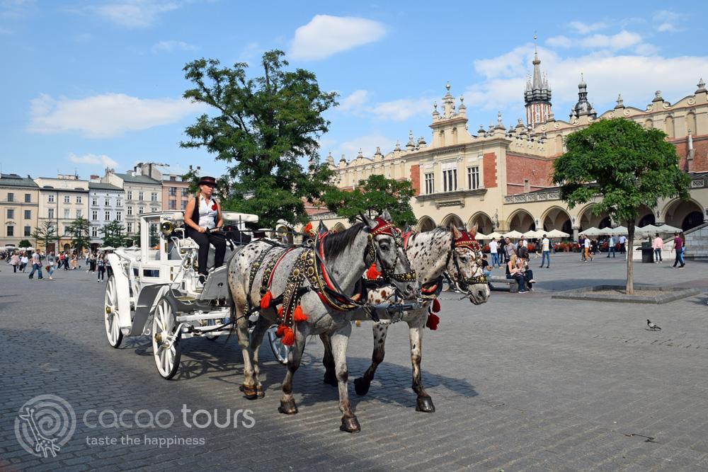 Главният площад в Краков