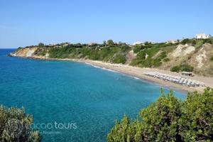 плажът Ай Хелис, Гърция