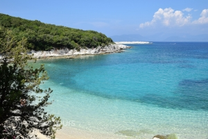 Плажът Емибилиси, Фискардо, Кефалония