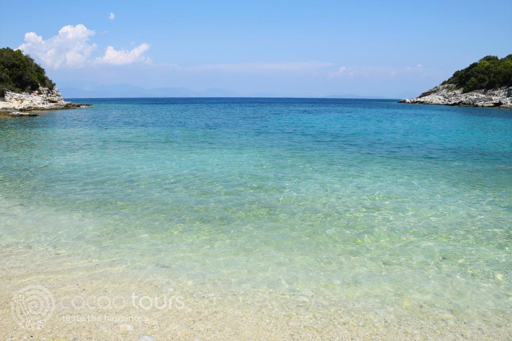 Плажът Емибилиси, Фискардо