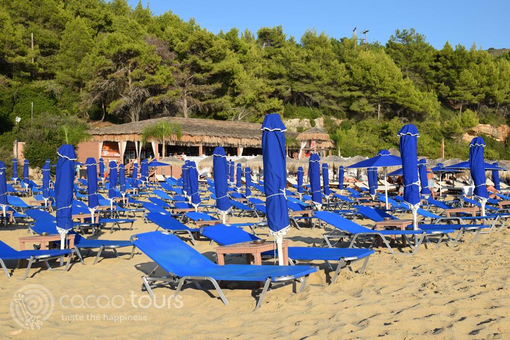 плажът Макрис Гиалос на остров Кефалония