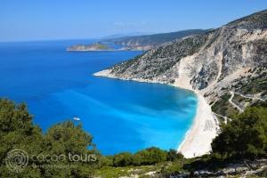 плажът Миртос, Гърция