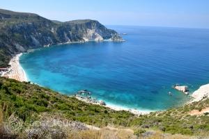 плажът Петани - малкият Миртос, остров Кефалония