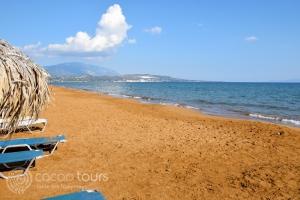 Плажът Кси, Кефалония, Гърция