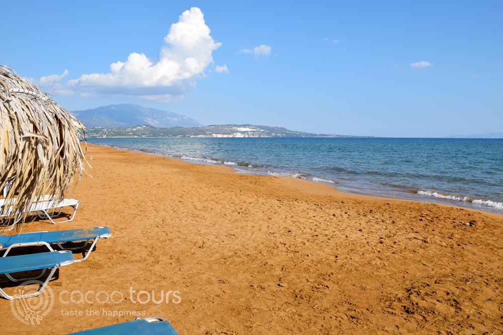 Плажът Кси, Гърция